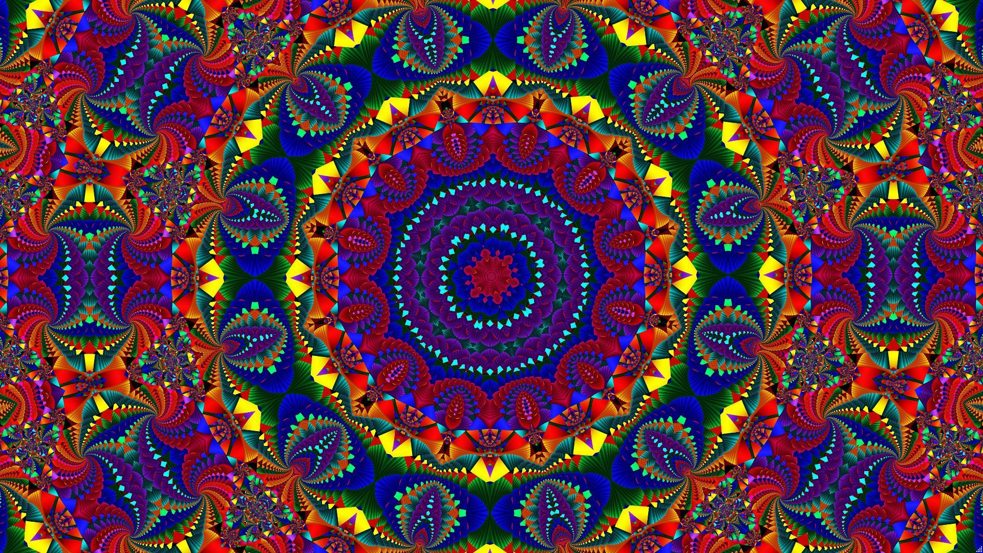 Петух / павлин с симметричной схемой